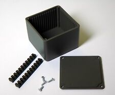 ABS Project Enclosure with EMI / RF Shielding -  55 x 42mm