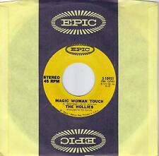 THE HOLLIES  Magic Woman Touch / Blue In The Morning  original 45 from 1972