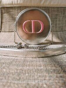 New DIOR Silver Round Small Crossbody Bag VIP Gift