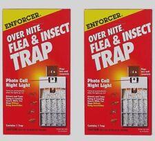 *2* Zep ENFORCER Over Nite Flea Insect Trap Night Light Pest Control ONFT1 120V