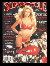 VINTAGE: MARCH 1986 SUPERCYCLE MAGAZINE ~ Motorcycle, Easyriders, Bike, Biker