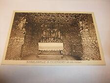 Postkarte Ansichtskarte AK Schädelkapelle Tscherbeney Bad Kudwa Schlesien v1945