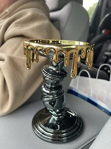2021 Bath & Body Works Halloween Candle Pillar Stick Drip Candle Holder