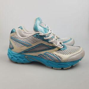 Women's REEBOK 'V50153' Sz 7 US Runners Blue GCon DEFECT | 3+ Extra 10% Off