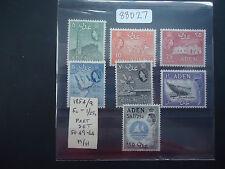 Aden 1954-59 QE2 (SG Between 49-64) (Part Set) Mounted Mint