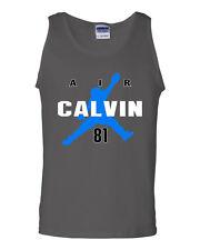 "Calvin Johnson Detroit Lions Megatron ""AIR CALVIN""  shirt jersey TANK TOP"