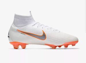 Nike Superfly 6 Elite AG PRO UK 11.5 (EUR 47 - ACC White/Total Orange AH7377 107