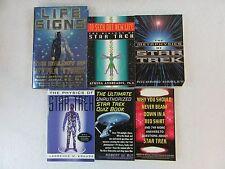 Lot of 6 STAR TREK Biology Life Signs Metaphysics Physics Ultimate Quiz Answers