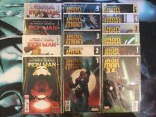 Marvel Comics Ultimate Iron Man, Limited-1-4, Vol.I-1-5, Vol.II-1-5 W/ Variant 1