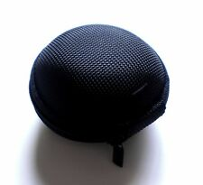 Black Case for Jabra Stone 1 2 3 Bluetooth Headset -save ear hook ear gel 02bc