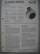 Philips SC7780 LADYSHAVE Rasierer Service Manual Ausgabe 08/57