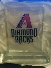 ARIZONA DIAMOND BACKS MVP Crystal  SOLID Desk Display AMAZING With Display Box