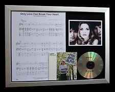 ST ETIENNE Only Love Break Heart TOP QUALITY CD FRAMED DISPLAY+FAST GLOBAL SHIP