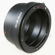 Kipon Nikon F mount AI lens to Nikon 1 mount J1 V1 camera adapter as Nikon FT1