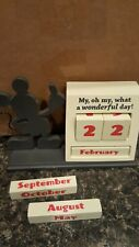 Disney Hallmark Mickey Mouse Block Calendar