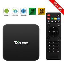 TX3 PRO SMART TV BOX Android 7.1 1 GB 8 GB S905W H265 4K HD 2.4G WIFI