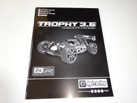 NITRO1/8 RC BUGGY HPI TROPHY 3.5 INSTRUCTION MANUAL NEW