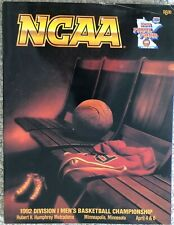 1992 NCAA Final Four Championship Game Program