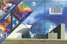 Finland 2000 Used Sheet Hologram Millenium Heureka Science Center  - Tangram