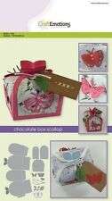 Craft Emotions Metal Cutting Embossing Die Chocolate Box Butterfly #1504