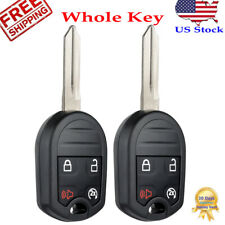 2 For Ford 2011 2012 2013 2014 2015 2016 F150 F350 F250 Remote Start Key Fob Fits Ford