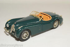 BBURAGO BURAGO JAGUAR XK120 XK 120 DARK GREEN GOOD CONDITION