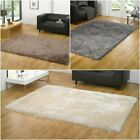 Modern Shaggy Very Thick Heavy Weight Deep Pile Soft Touch Beige Mix Rug Carpet