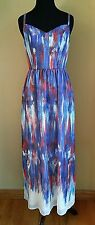 NWOT MODCLOTH (PRIVATE LABEL) MAXI - BRUSHSTROKE TO CONCLUSIONS DRESS XS