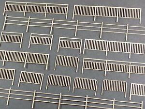 assorted pedestrian safety fencing handrail kit -00 gauge detail fence *3 for 2*