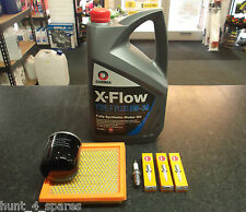 NISSAN NOTE (E11) 1.4 SERVICE KIT OIL & AIR FILTERS SPARK PLUGS 5 LITRES OIL
