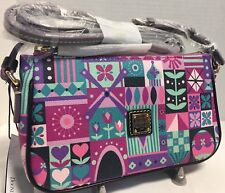 NWT*Dooney & Bourke*Disney*It's A Small World*Pouchette*Crossbody*18019G S006