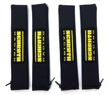 4 pcs Schroth 2 Inch 1 31/32in Belt Pad Racing Patch Belt Protector Black Photos