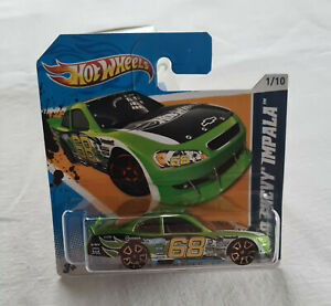 2012 Hot Wheels HW Faster Than Ever #91 2010 Chevy Impala Green New *Short Card*