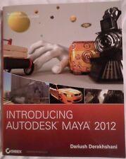 Introducing Autodesk Maya 2012 by Dariush Derakhshani Paperback Book (English)