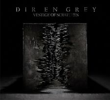 DIR EN GREY VESTIGE OF SCRATCHES(First Limited Edition)CD+Blu-ray Japan F/S