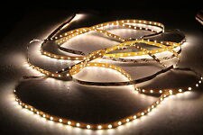 5 Meter 3528 LED/SMD Strip Light for Decoration 12V DC Non-waterproof-Warm White