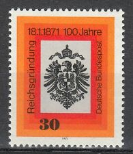 Germany 1971 Mi 658 Sc 1052 MNH Imperial Eagle Centenary of the German Empire