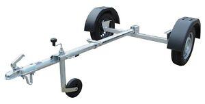 Anhänger Bausatz - 750 kg Achse, Räder, Zugrohr, Stützrad, Kupplung, Kotflügel