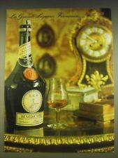 1963 Benedictine Liquor Ad - La Grande Liqueur Francaise