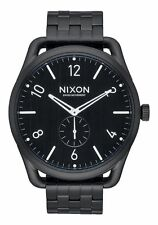 **BRAND NEW** NIXON WATCH THE C45 SS ALL BLACK A951001 NEW IN BOX!