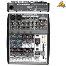 Behringer Xenyx 1002 Premium 10-Channels Audio Mixer NEW l USA Authorized Dealer