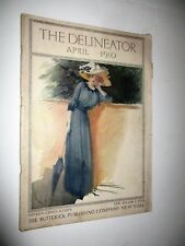 Antique April 1910 The Delineator Fashion Magazine Womens Ladies Ads Ivory Soap