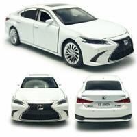 Lexus ES300H 2018 1:32 Scale Model Car Metal Diecast Toy Vehicle Kids Gift White