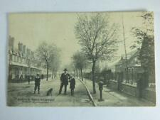 ANTIQUE- AVENUE RD., NEWPORT, SHROPSHIRE, POSTED 1907