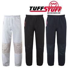 TuffStuff 717 Work Jogging Bottom Joggers with Knee Pad Pockets ~BEST SELLER~