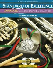 Standard of Excellence Enhanced Book 2 - Eb Alto Saxophone Pw22Xe With Cd's