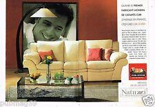 Publicité Advertising 2000 (2 pages) Mobilier meuble Canapé Fauteuil Cuir Center