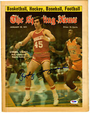 Rudy Tomjanovich SIGNED 77 Rocket The Sporting News NO LABEL PSA/DNA AUTOGRAPHED