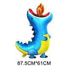 Cartoon Dinosaur Shape Foil Balloon Children Birthday Party Decor Toy Gift NEW D