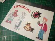 Futurama Sticker Set Zoidberg Fry